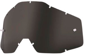 Линза к очкам Ride 100% Racecraft/Accuri/Strata Replacement Lens Anti-Fog Dark Smoke (51001-018-02)