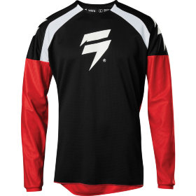 Мото джерси Shift Whit3 Label Race Jersey 1 Black/Red
