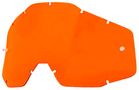 Линза к очкам Ride 100% Racecraft/Accuri/Strata Replacement Lens Anti-Fog Orange (51001-006-02)