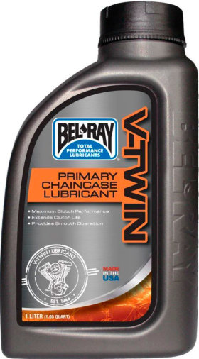 Трансмиссионное масло Bel-Ray V-Twin Primary Chaincase Lubricant 80W 1л