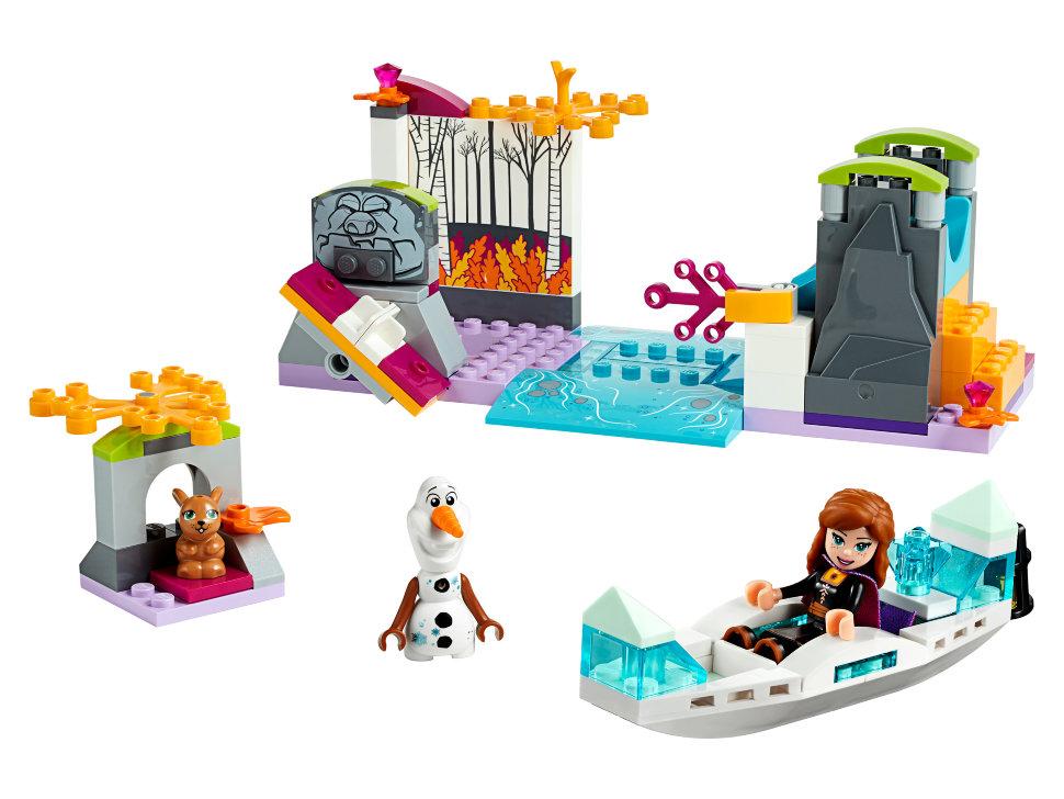 Конструктор Lego Disney Princess: экспедиция Анны на каноэ (41165 ...