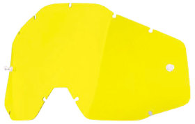 Линза к очкам Ride 100% Racecraft/Accuri/Strata Replacement Lens Anti-Fog Yellow (51001-004-02)
