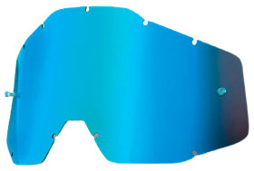 Линза к очкам Ride 100% Racecraft/Accuri/Strata Replacement Lens Anti-Fog Blue Mirror/Blue (51002-002-02)