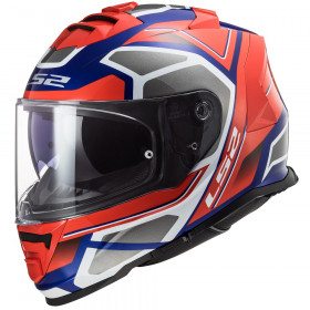 Мотошлем LS2 FF800 Storm Faster Red Blue