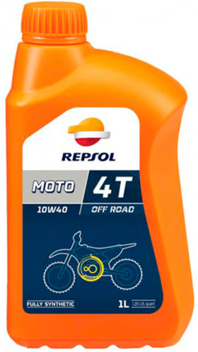 Моторное масло Repsol Moto Off Road 4T 10W40 (1л)