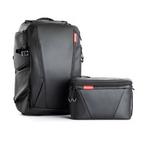 Рюкзак для фотокамер Pgytech OneMo Backpack 25L с сумкой Shoulder Bag Twilight Black (P-CB-020)
