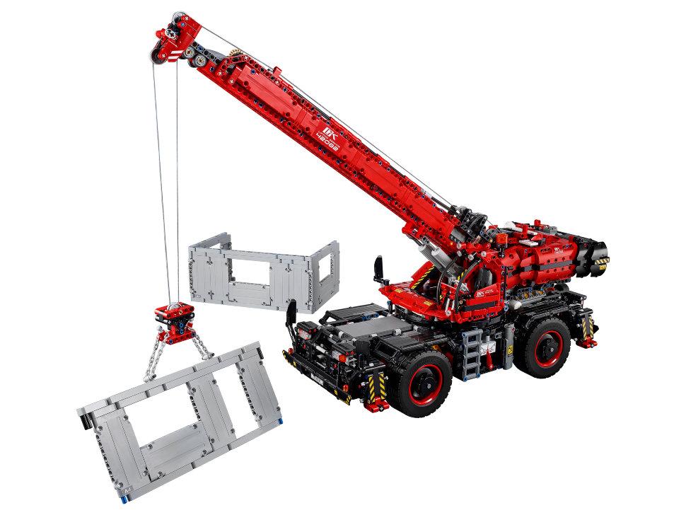 Конструктор Lego Technic: подъёмный кран для пересечённой ...