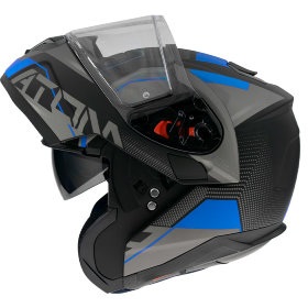 Мотошлем MT Helmets Atom SV Quark Black/Blue