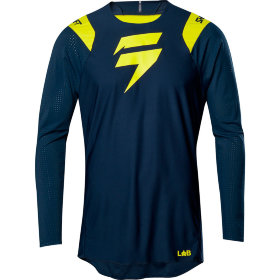 Мото джерси Shift 3lue Risen 2.0 Jersey Navy/Yellow