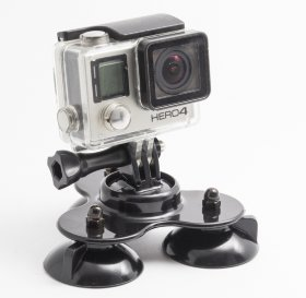 Присоска SJCAM Triple Suction Cup Mount For GoPro, SJCAM