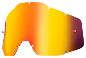 Линза к очкам Ride 100% Racecraft/Accuri/Strata Replacement Lens Anti-Fog Red Mirror/Smoke (51002-003-02)