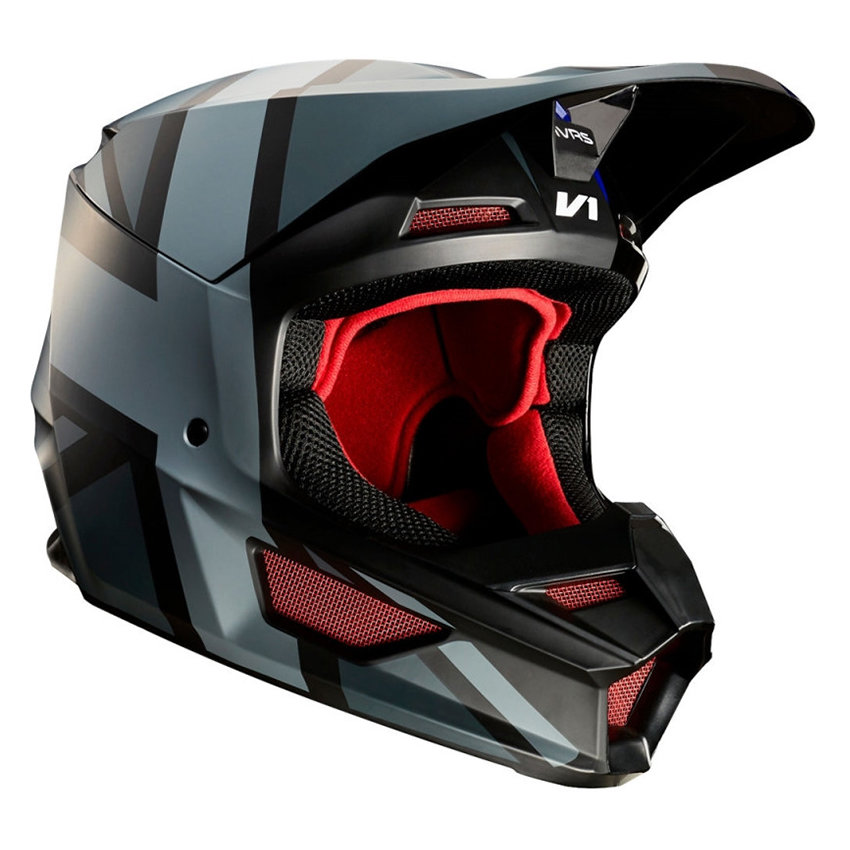 Мотошлем Fox V1 SE Mxon Red/Black