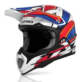 Мотошлем Acerbis Impact 2016 White/Red/Blue