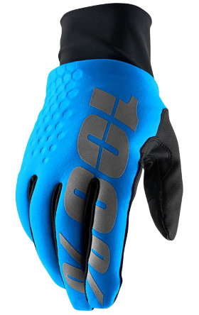 Мотоперчатки Ride 100% Brisker Hydromatic Glove Blue