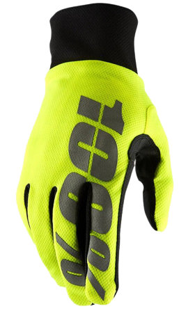 Мотоперчатки Ride 100% Brisker Hydromatic Waterproof Glove Yellow
