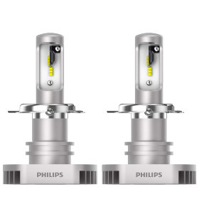 LED лампы комплект Philips H4 Ultinon Led +160% (11342ULWX2)