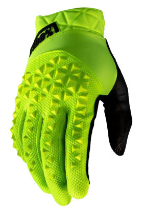 Мотоперчатки Ride 100% Geomatic Glove Fluo Yellow/Black