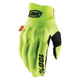 Мотоперчатки Ride 100% Cognito 100% Glove Fluo Yellow/Black