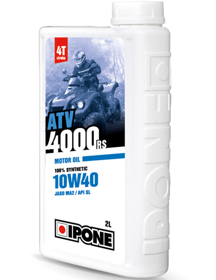 Моторное масло Ipone ATV 4000 RS 10W40 2л